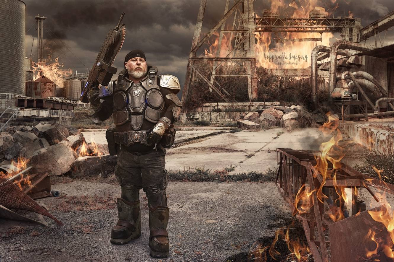 Gears of War Cosplay Part #2
